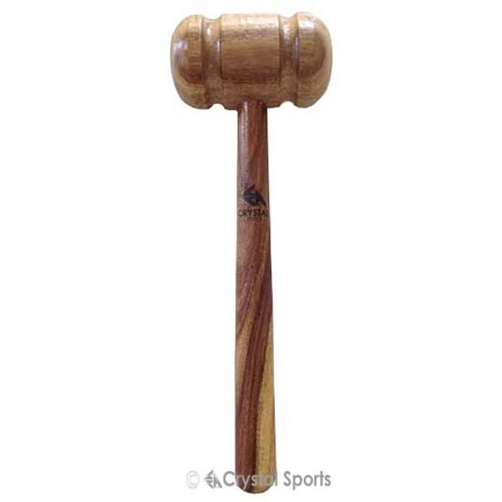 Crystal Sports Bat Mallet- Wooden Hammer (Bat Knocking)