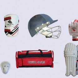 Crystal Sports Club Junior Cricket Kit Set