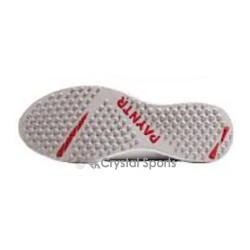 Payntr X Batting All White Rubber Cricket Shoe
