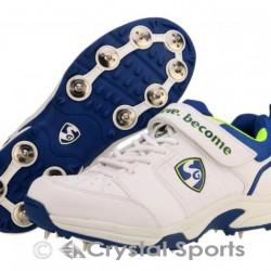 SG Sierra 2.0 Metal Spikes Cricket Shoes