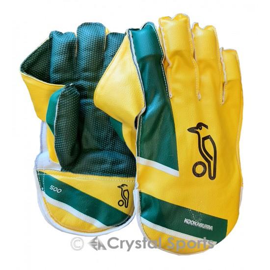 Kookaburra Pro 500 Wicket Keeping Gloves