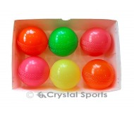 6 x Wind Ball/ Poly Softa Cricket Ball