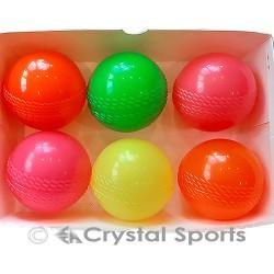 6 x Wind Ball/ Poly Softa Cricket Ball