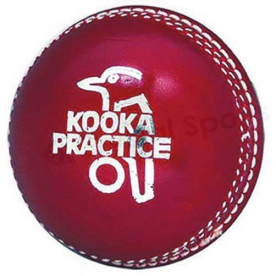 Kookaburra Practice 2-Piece Leather Cricket Ball