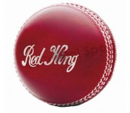 Kookaburra Red King 2-Piece Leather Cricket Ball