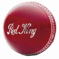 Kookaburra Red King 2-Piece Leather Cricket Ball