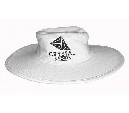 Crystal Sports Wide Brim Cricket Hat