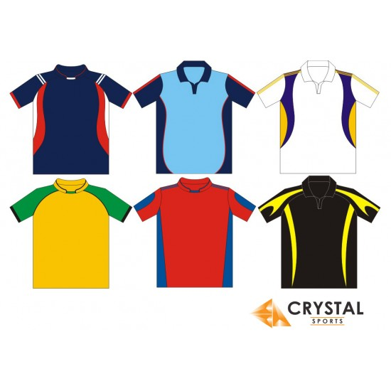 Custom Made T-Shirts (Cut and Sew) for Clubs Any Colour/Design